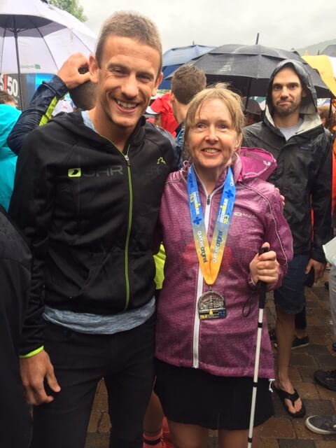 Diane with Canadian Ironman Superstar Lionel Sanders