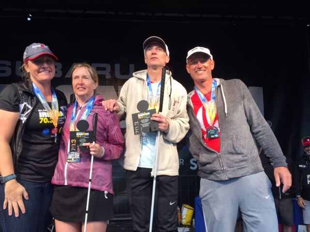 Diane and Kory with Their Medals After an Event